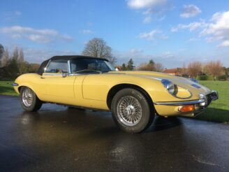 1973 Jaguar E-Type Series 3 V12 Automatic Roadster