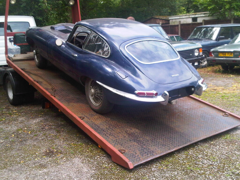 1962 E-Type Coupe