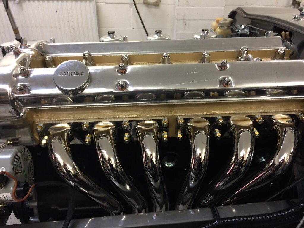 1966 Jaguar Roadster restoration