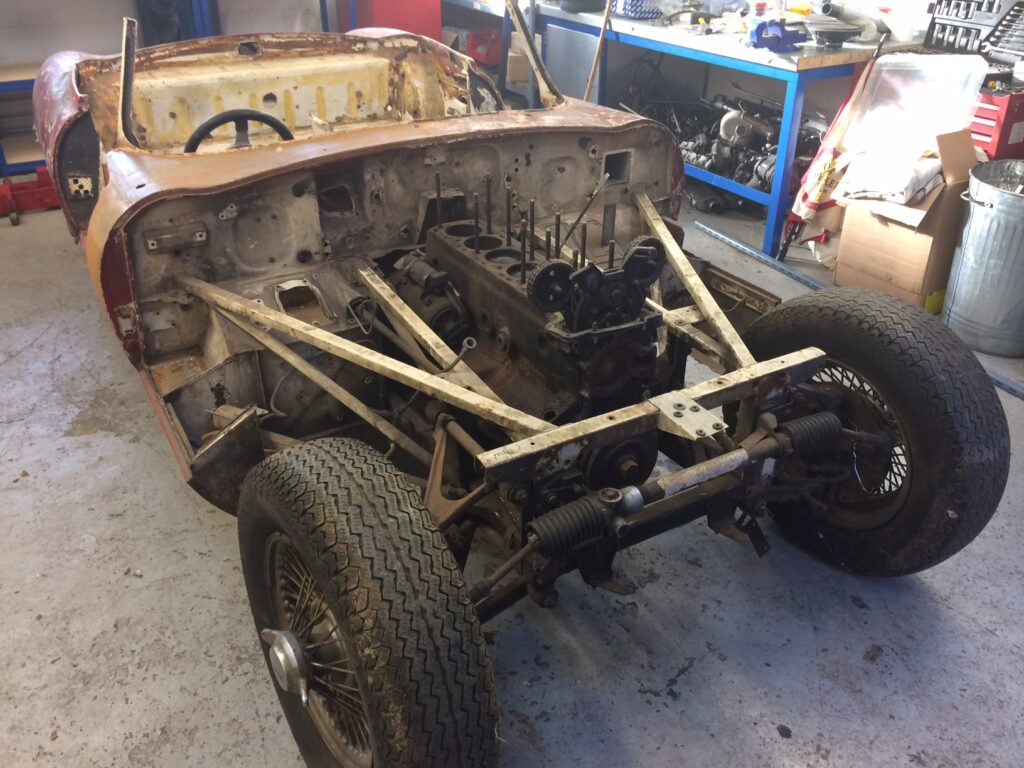 1966 E-Type S1 4.2 `barn find` Roadster