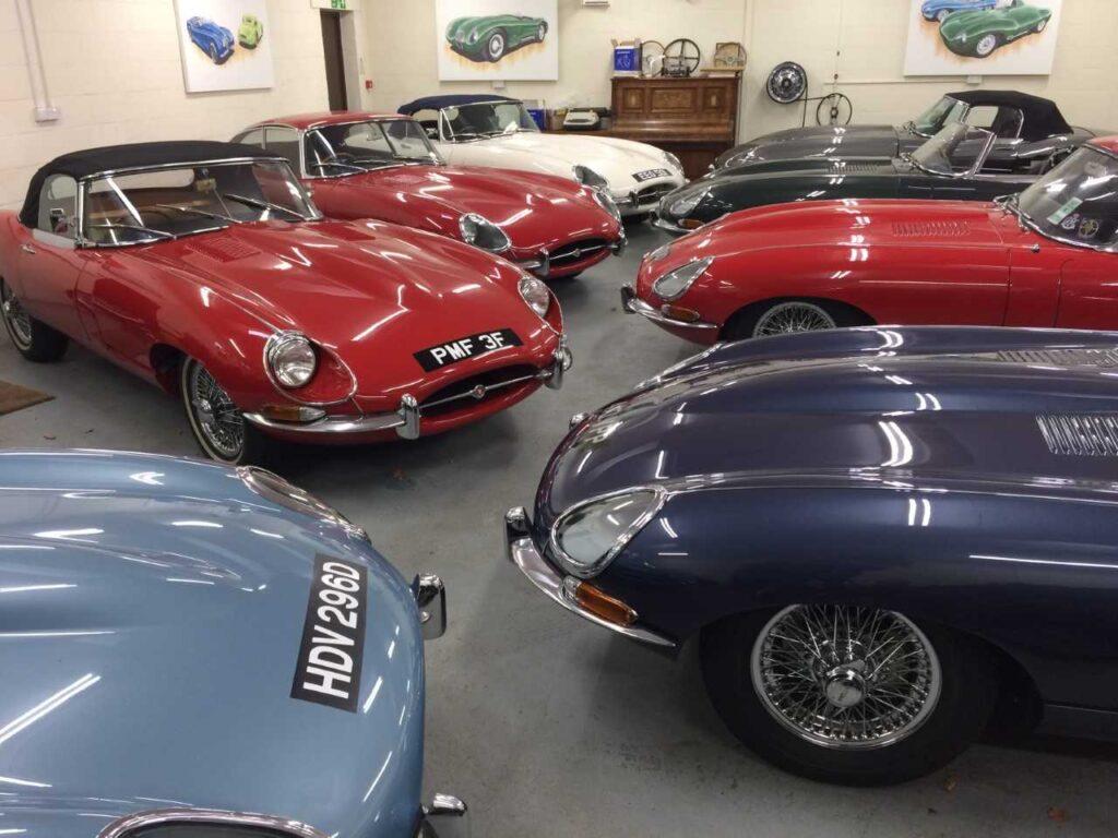 Classic Jaguars in Guildford Surrey
