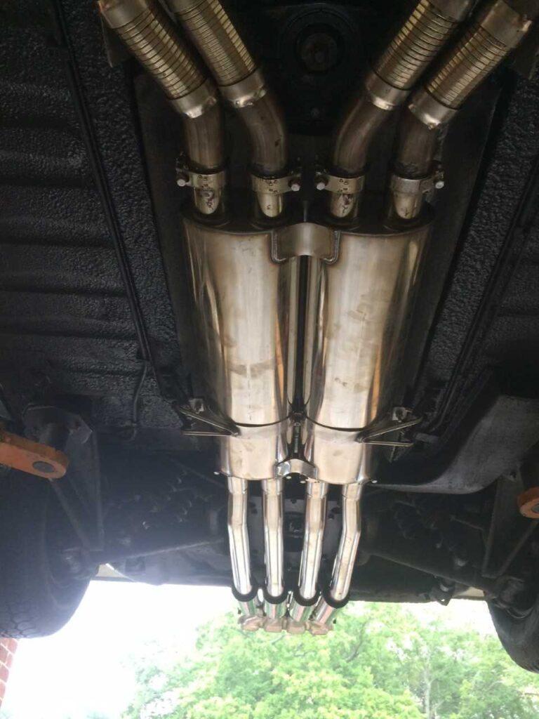Jaguar V12 E-Type Sports Exhaust System