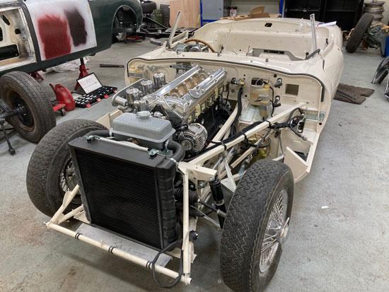 Surry Jaguar restorers