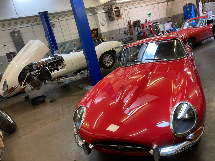 Classic Jaguar Servicing and Repair Surrey