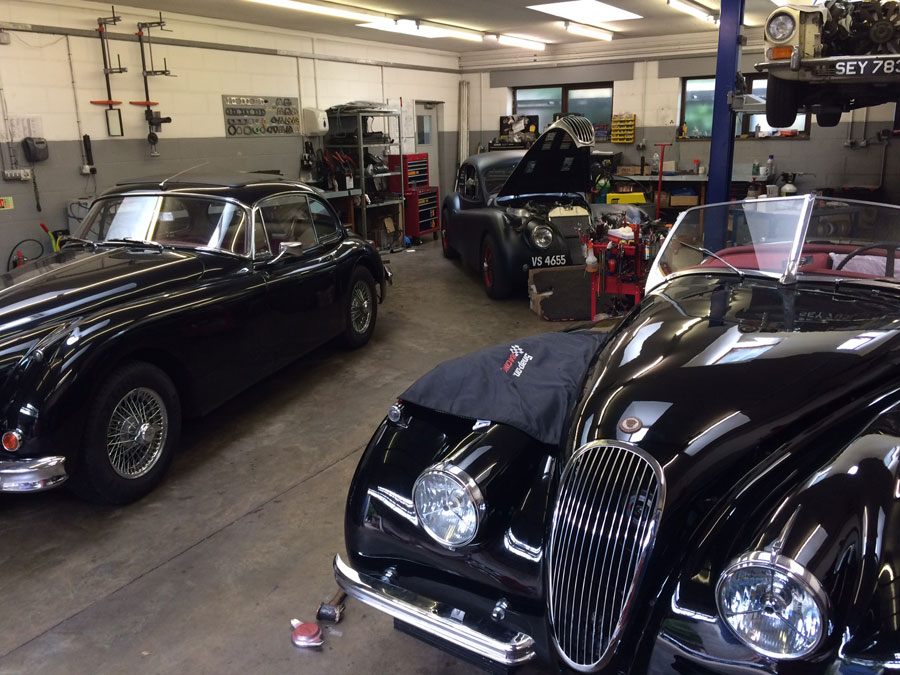 Classic Jaguar Repairs Surrey