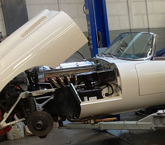 Classic Jaguar Servicing Surrey