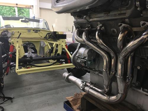 Jaguar V12 head